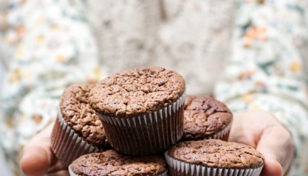 Mandala Coconut Cocoa Muffins